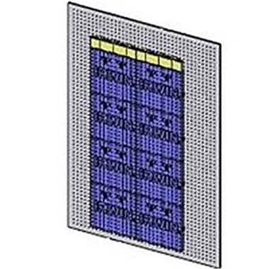 Irwin Industrial Blue Wall, 4' x 6' (ORGL18050)