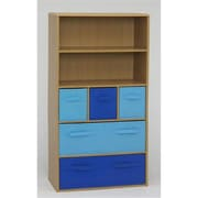 4D Concepts Boys Storage Bookcase, Beech (FD138)