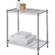 Homebasix Two-Shelf Stacker, Chrome (ORGL47937)