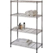 Homebasix Tier Shelf, Chrome (ORGL48046)