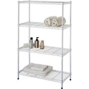 "HOMEBASIX Tier Shelf, 14"" x 13"" x 32"", White (ORGL48047)"