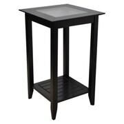Convenience Concepts Carmel End Table, Black (CCL317)