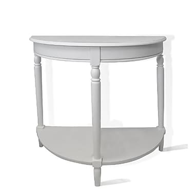 Convenience Concepts French County Entryway Table, White (CCL244)