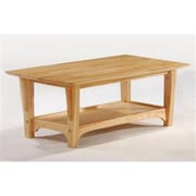 Night and Day Furniture Evening Coffee Table in Natural (NADFO272)
