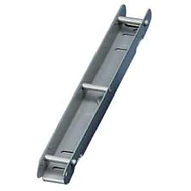 Master Products Catalog Rack Section, 3-Post, Single-Section, 1in Capacity, Gray (SPRCH12343)