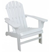 United General Supply Co Inc TX94052 White Adirondack Chair