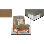 Night and Day Furniture MND-PCP-CHR-MOC Pocket Coil Plus Chair Mattress In Mocha, NADFO386