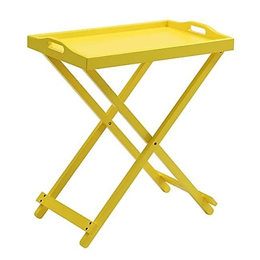 Convenience Concepts Wood Coffee Table, Yellow, Each (RTL52405)