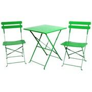 Sinochem Ningbo Ltd Steel Sets Table, Green, Each (JNSN75438)