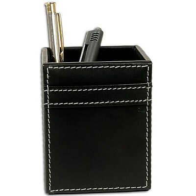 Dacasso A1210 Rustic Leather Pencil Cup