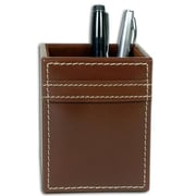 Dacasso Rustic Leather Pencil Cup (DCSS014)