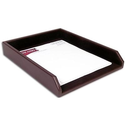 Dacasso Leather Front-Load Letter Tray (DCSS060)