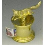 Mayer Mill Brass Running Fox Stamp Dispenser (MYRMB370)