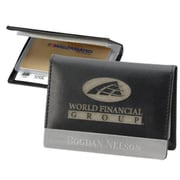 Chass Slim ID and Card Case with Accent Front Plate (CHAS047)