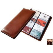 Raika Desk Card Case, Wine (RKA518)