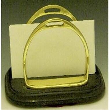 Mayer Mill Brass Twin Stirrup Mail Holder (MYRMB476)
