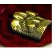 Mayer Mill Brass Dog Paw Paper Weight, Lacquered (MYRMB142)