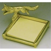 Mayer Mill Brass PIF-1 Fox Post It Note Holder (MYRMB277)