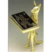 Mayer Mill Brass Standing Fox Card Holder (MYRMB443)