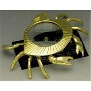 Mayer Mill Brass Crab Magnifying Glass, Paper Weight (MYRMB104)