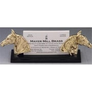 Mayer Mill Brass Horse Card Holder (MYRMB191)