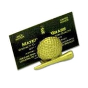 Mayer Mill Brass Golf Ball and Tee Card Holder (MYRMB799)
