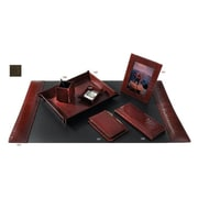 Raika Letter Tray, Leather, Brown (RKA3271)