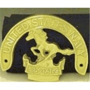 Mayer Mill Brass Navy Mustang Plaque (MYRMB907)