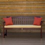 Highwood Synthetic Wood Lehigh Bench, Weathered Acorn (HGWD080)