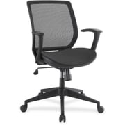 Lorell RTL156581 Mesh/Mesh Executive Mid-Back Chair