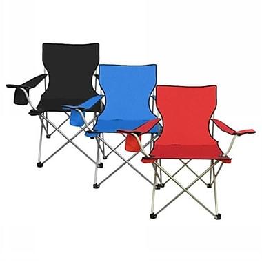 Eros Hosiery All Star Metal 600 Denier Polyester Folding Chairs, Matte Silver, Case of 4 (RTL84784)
