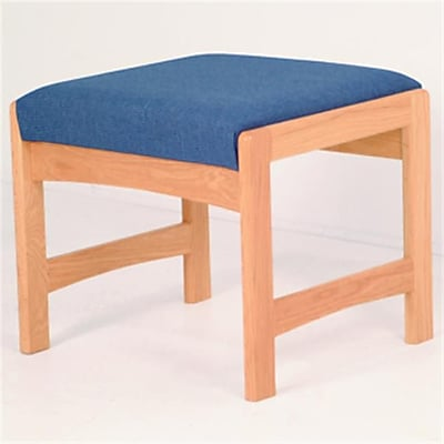 Wooden Mallet Single Bench in Medium Oak/Black (WDNM1025) 1874231