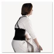 "Imp Standard Back Support, 7"" Back Panel, Single Closure, Suspenders, Medium, Black (AZERTY19209)"
