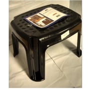 YBM Home 0305,bl Plastic Step Stool, Black