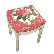 123 Creations Rose Needlepoint Stool (CREATE1064)