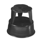 Cramer Original Kik Step Steel Step Stool, 15.63 Diameter x 14H, 500lb Duty Rating, Black (AZERTY16702)
