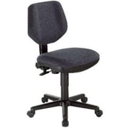 Alvin Classic Fabric Computer and Desk Office Chair, Armless, Black (ALV6351)
