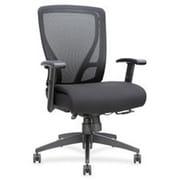 Lorell Swivel Mid,back Mesh Chair