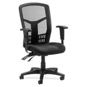 Lorell RTL156644 Ergomesh Seating Executive Mesh High-Back Chair