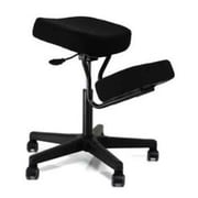 Jobri Solace Fabric Kneeling Office Chair, Armless, Black (JBR188)