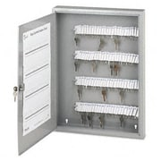 "Securit Locking Key Cabinet, 100-Key, Steel-Gray, 16 1/2"" x 3"" x 22 1/2"" (AZSECU04984)"