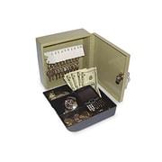 "Securit Key Cabinet/Drawer Safe, 10-Key, 6 3/4"" x 6 7/8"" x 3"", Steel, Pebble Beige (AZSECU04982)"
