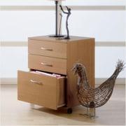 MFI-Nexera Mobile File Cabinet, Natural Maple (MFI220)