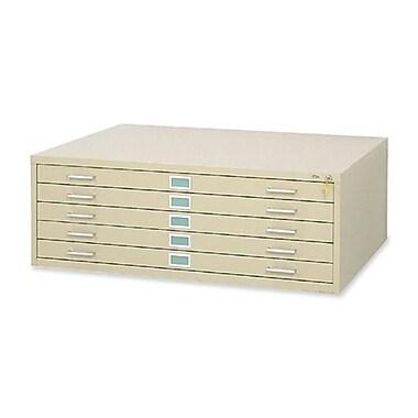 Alvin Five-Drawer Flat File, Sand (ALV6041)
