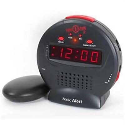 Sonic Bomb TDSA-SBJ525SS Sonic Bomb Jr Vibrating Alarm Clock 1879002