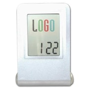 "Ruda Overseas 3 1/2"" x 2 1/2"" Logo Digital Alarm Clock (RDOV182)"