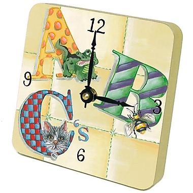 Lexington Studios 23078TT ABCs Tiny Times Clock