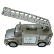 Ruda Overseas 92 Fire Truck Metal Clock