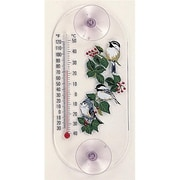 Aspects ASPECTS204 Titmouse and Chickadees Original Window Thermometer