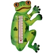 Songbird Essentials Tree Frog in Profile Small Window Thermometer